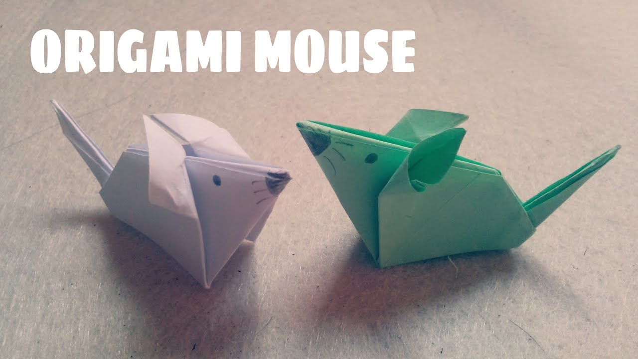Origami for kids origami mouse origami animals youtube jeuxipadfo Choice Image