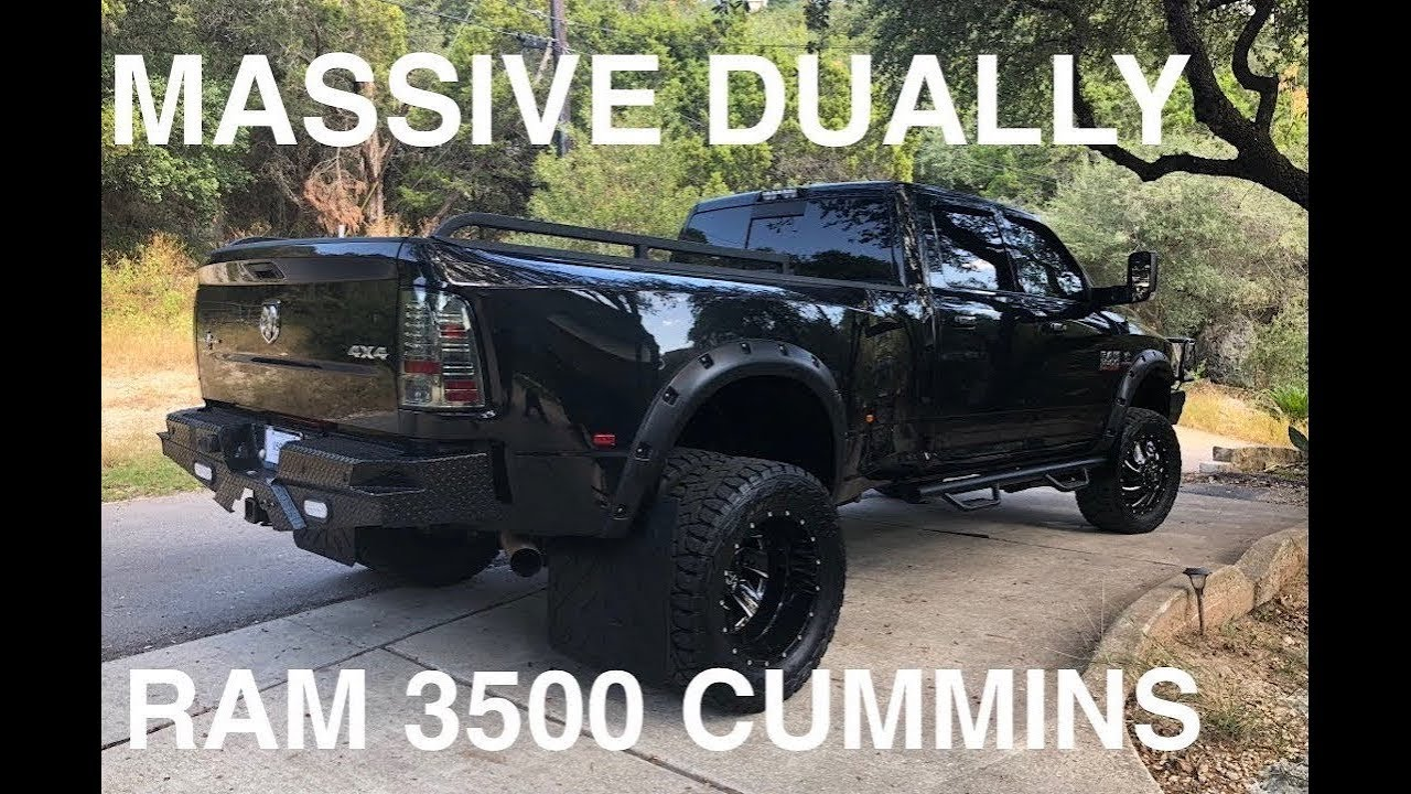 2016 Ram 3500 Mins Custom Lifted Dually Lonestar Full In Depth 4k Review This Thing Is Huge