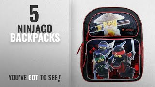 Top 10 Ninjago Backpacks [2018 Best Sellers]: Lego Ninjago Medium Backpack #LNCF45