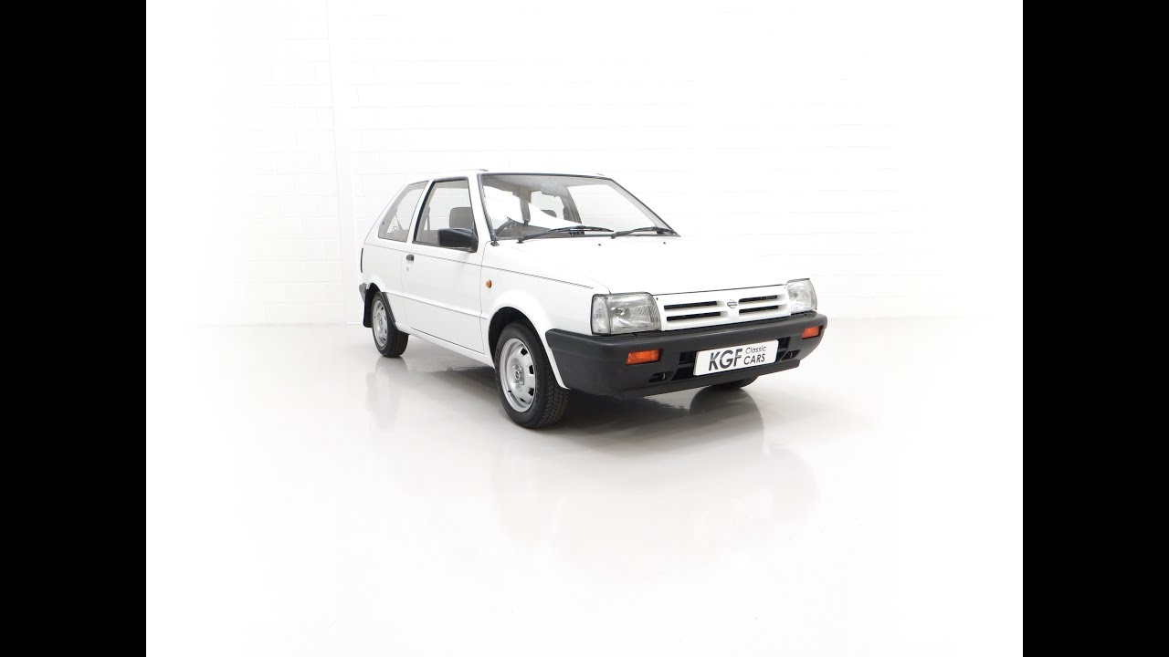 A Retro Super Dependable Nissan Micra 1.0 Premium with Only 33,846 Miles - £3,495