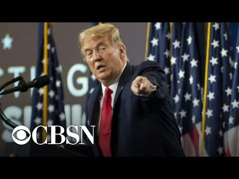President Trump and Joe Biden campaign in key battleground states Friday