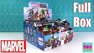 Marvel Collectible Diorama Blind Bag Super Heroes Figures Toy Review | PSToyReviews
