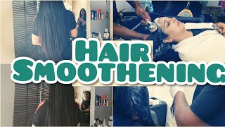 Hair Smoothening || Loreal hair smoothening in Hindi || Smooth and silky hairs || Permanent straight