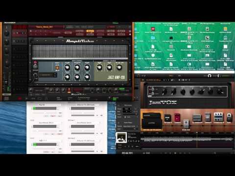 No.0004 AmpliTube 4 & JamVOX III & software Mixer : Wes Montgomery - Four On Six