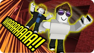 ESCAPING FROM PRISON! ROBLOX - Exo and Luh