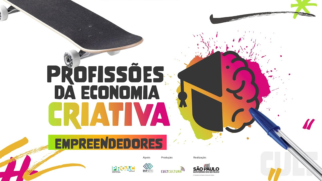 """Conheça os entrevistados da nova temporada da websérie """"Profissões da Economia Criativa"""""""