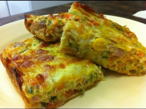 Receta: Delicioso Pastel de Verduras - La Cocinadera