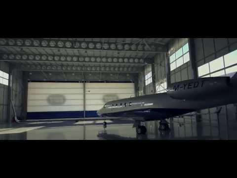 Megadoor hangar doors at EDT Offshore Ltd