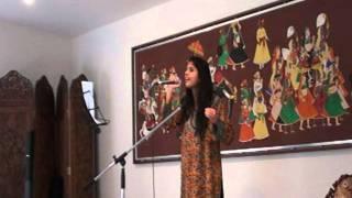 Vaidehi Dongre Singing Vajale Ki Bara