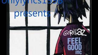 GoRiLLaZ~Feel Good INC lyrics (HD)