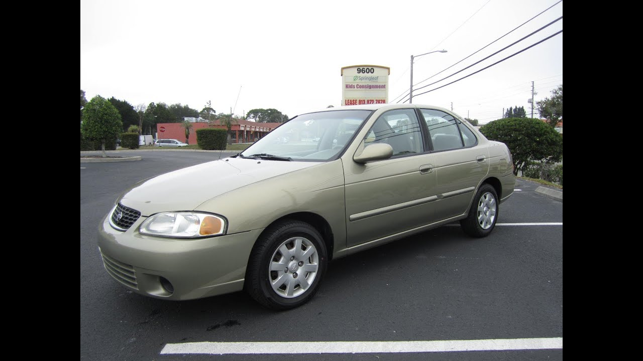 Great SOLD 2001 Nissan Sentra GXE 91K Miles Meticulous Motors Inc Florida For Sale