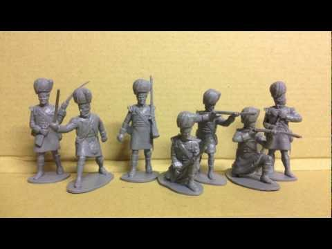 Highland infantry 1815-1:72 Waterloo 1815