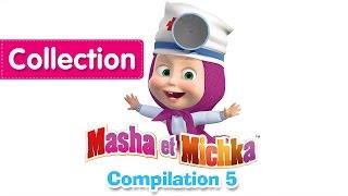 Masha et Michka - Сompilation 5 (20 minutes) Dessins animés en Français 2016!