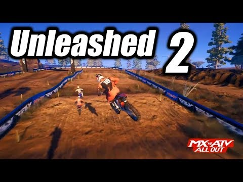 Unleashed 2??? MX vs ATV All Out Early Gameplay