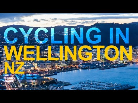 Cycling in Wellington New Zealand