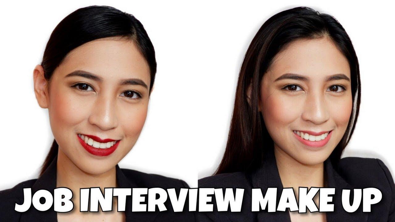 JOB INTERVIEW MAKEUP TUTORIAL (Cabin Crew & Office Job) PHILIPPINES