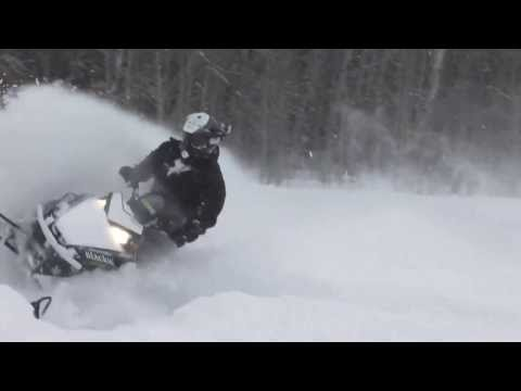 ski doo freeride and polaris pro rmk rockn choiceland pow