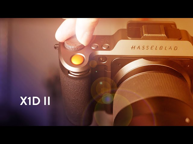 New Hasselblad $5,750 X1DII 50C camera and XCD F3 5-4 5/35-75mm lens