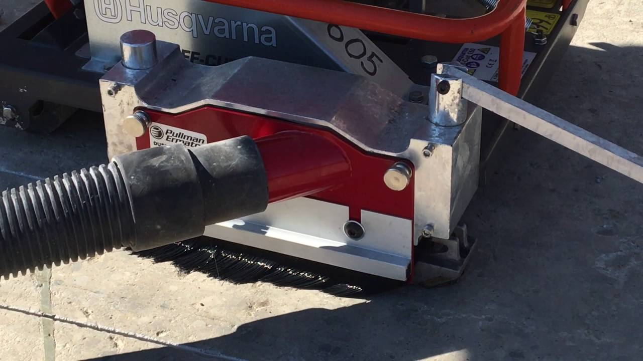 Ermator Dust Shield Paired With Husqvarna X 150 Walk