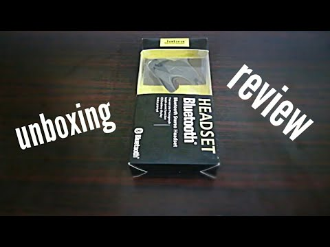 Unboxing | review of jabra bt headset |