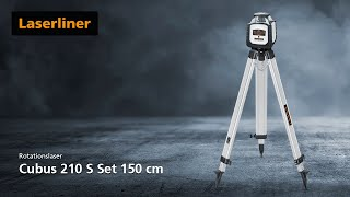 Rotationslaser - Innovation - Cubus 210 S Set 150 cm - 052.205A