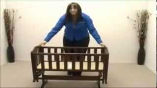 Saplings Glider Swinging Crib