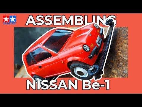 Merakit Tamiya Mini 4WD | Nissan Be1