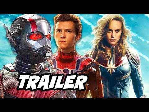 Ant-Man and The Wasp Avengers Infinity War Trailer and Captain Marvel Breakdown