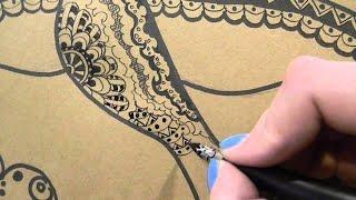 Поэтапные уроки рисования - Рисование орнаментом