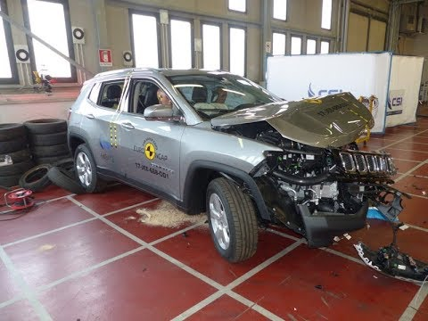jeep compass 2017 crash test euro ncap youtube. Black Bedroom Furniture Sets. Home Design Ideas