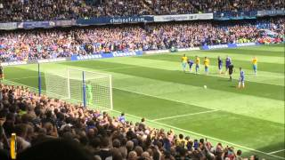 Chelsea vs Crystal Palace Eden Hazard  Penalty Header