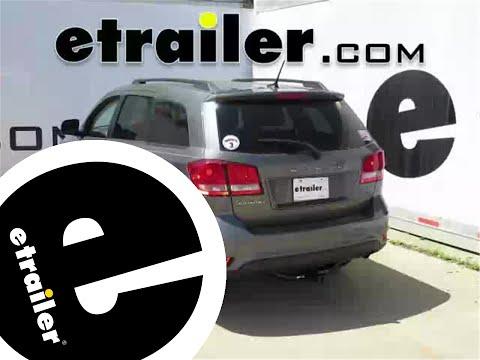 Trailer Hitch Installation - 2012 Dodge Journey - Curt - etrailer.com