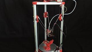 Sintron 3D Printer Kossel Mini Printer Demo