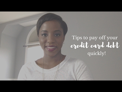 Tips To Help You Pay Off Your Credit Card Debt Quickly