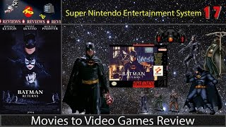 Movies to Video Games Review -- Batman Returns (SNES)