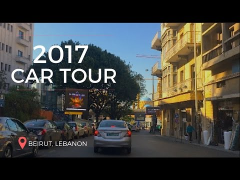 Beirut Car Tour| Near death experience|  Vlog 2