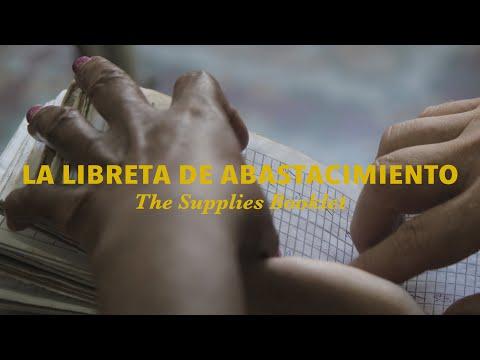 La Libreta -- The Cuban Supplies Booklet