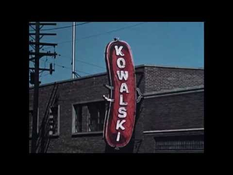 Detroit: Today and Tomorrow - Fire and Police Departments, and Kowalski Sausage (1957)