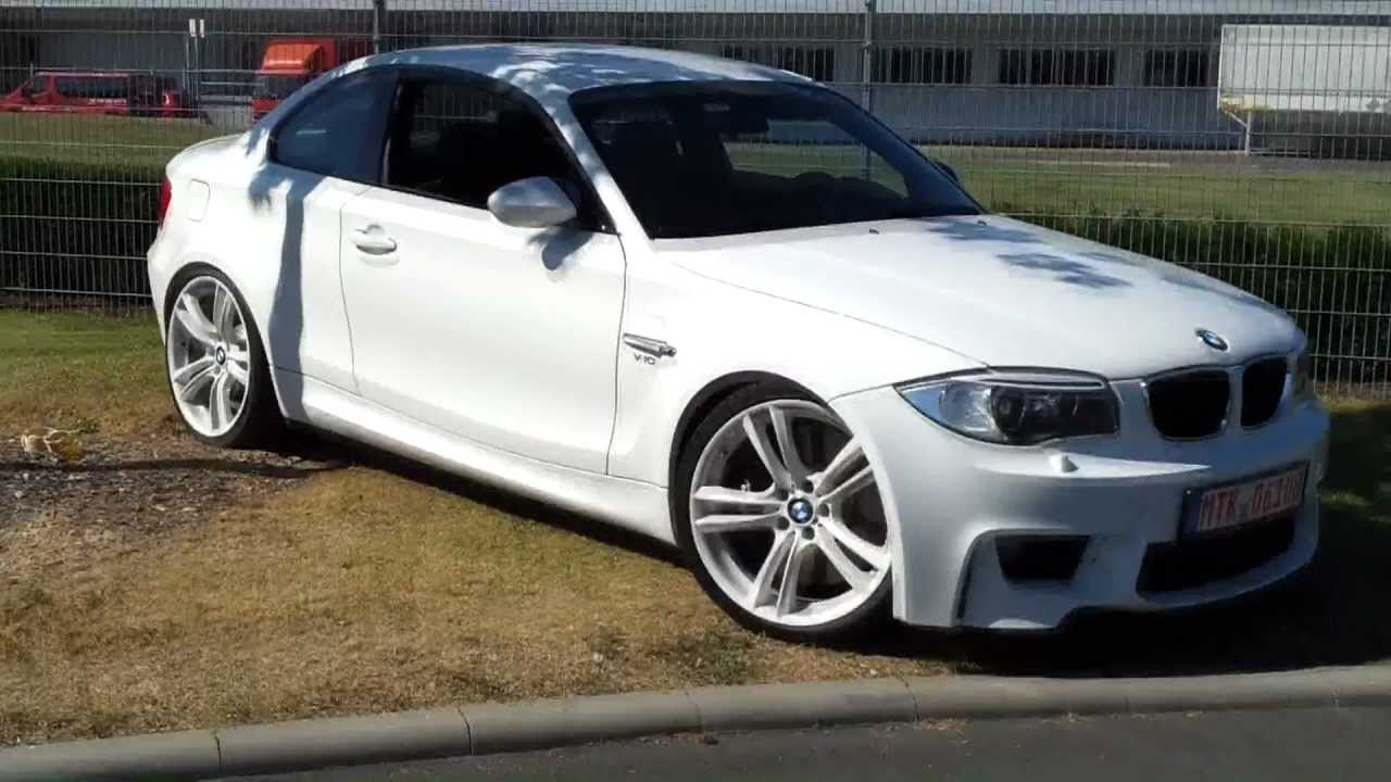 bmw 1er m coup u00e9 v10 550ps - bmw 1 series 550 hp sounds like songz