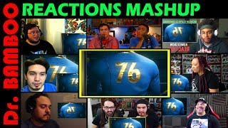 Fallout 76 - Official E3 2018 Trailer REACTIONS MASHUP