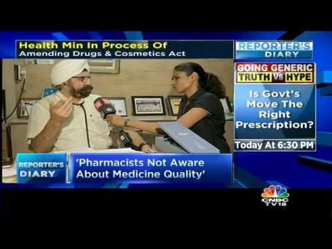Govt's Generic Drug Push: Doctors React