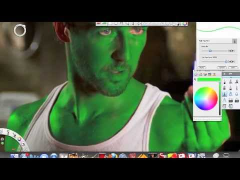 the incredible hulk transformation: speed paint - YouTube