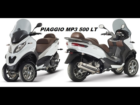 piaggio mp3 500 lt business youtube. Black Bedroom Furniture Sets. Home Design Ideas