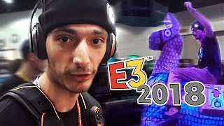 Ice Poseidon Attends the Electronic Entertainment Expo