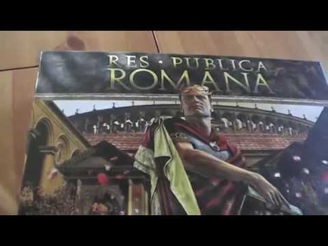 S05E01 - Res Publica Romana : présentation du jeu et du matériel