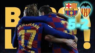 ⚽ Barça 5-2 Valencia | BARÇA LIVE | Warm up & Match Center