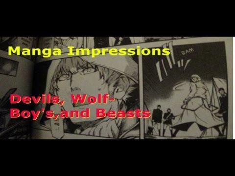 Dynamic Manga Impressions: Devil's, Wolf Boy's, And Beasts!