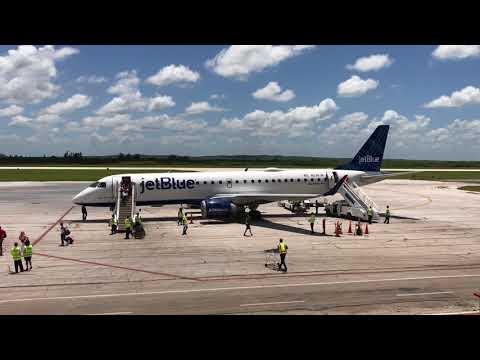 JetBlue Lands in Camagüey, Cuba