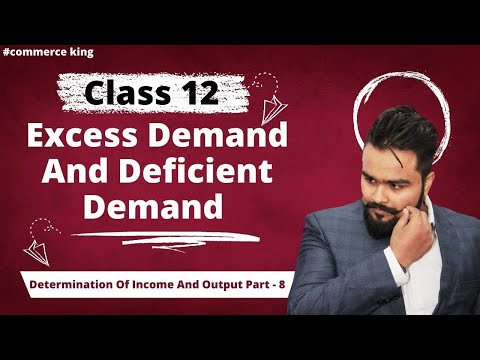 #67, excess and deficient demand:reasons & impact(Class 12 macroeconomics)