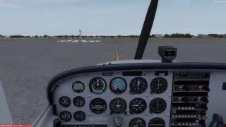 A2A Cessna 172R Starting, Taxi, Takeoff, Trim